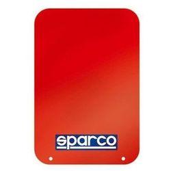 Fartuchy przeciwbłotne SPARCO 4mm - zestaw 2 szt. (Zgodne z FIA)