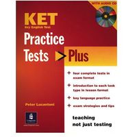KET Practice Tests Plus Revised Edition Student's Book and Audio CD Pack (opr. miękka)