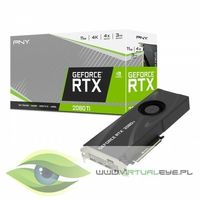 PNY Karta graficzna GeForce RTX2080Ti 11GB BLOWER WM