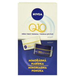 Nivea Q10 Plus Day Night Cream W Kosmetyki Zestaw kosmetyków 50ml Q10 Plus Day Cream + 50ml Q10 Plus Night Cream