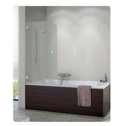 Parawan nawannowy SanSwiss PURB jednoczęściowy lewy 70x140 cm, chrom, szkło przezroczyste PURBG07001007