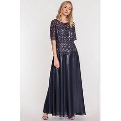 c36b35590c2d ... sukienka wieczorowa dluga - porównaj zanim kupisz  e3b7fcadf4eb suknie  sukienki granatowa dluga suknia suknia dla mamy panny mlodej .