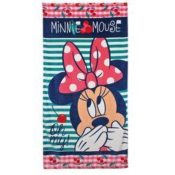 Ręcznik plażowy / kąpielowy Myszka Minnie wisienka