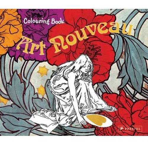 Coloring Book: Art Nouveau