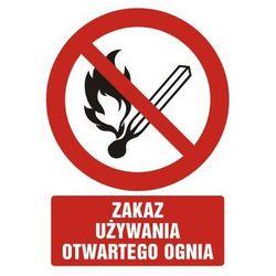 Zakaz używania otwartego ognia