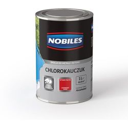 Emalia Chlorokauczuk Czerwony Tlenkowy połysk 1L Nobiles