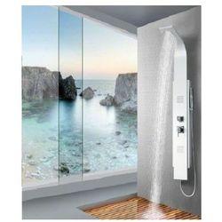 8725 Panel prysznicowy z kaskadą, biały