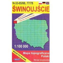 WZKart: ŚWINOUJŚCIE 1:100 000 mapa topograficzna Polski wydanie turystyczne (opr. miękka)