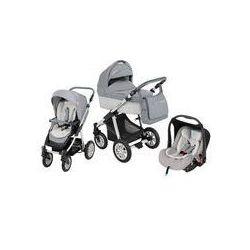 Wózek wielofunkcyjny 3w1 Lupo Dotty + Leo Baby Design (Eco szary)