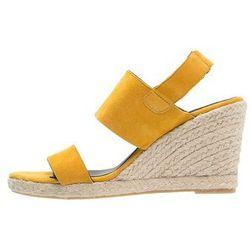 Zalando Iconics Sandały na koturnie yellow