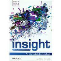 Insight Pre-Intermediate Student's Book (opr. miękka)