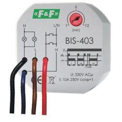 F&F Przekaźnik bistabilny BIS-403 do puszki podtynkowej z wyłącznikiem czasowym