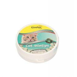 GIMPET CAT MINTIPS TABLETKI Z KOCIMIĘTKĄ DLA KOTA 90SZT. (50G)