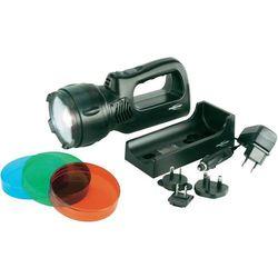 Latarka kieszonkowa AccuLux HSL-1, 3 W, 1 x LED, ładowarka, 12 - 24 V