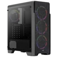 AeroCool Obudowa Aerocool ORE TEMPERED GLASS RGB BLACK