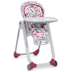 Chicco, Polly Progress Cherry, krzesełko - leżaczek, 5w1 Darmowa dostawa do sklepów SMYK