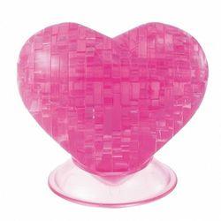 Bard Crystal, Puzzle 3D, Serce, 46 elementów Darmowa dostawa do sklepów SMYK