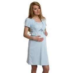 Koszula dla kobiet w ciąży i karmiących ITALIAN FASHION Felicity pastelowy niebieski