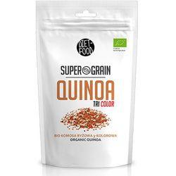 Komosa Ryżowa 3-Kolorowa Quinoa Super Grain 400g EKO DIET-FOOD