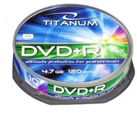 DVD+R TITANUM 4,7 GB X16 - CAKE BOX 10