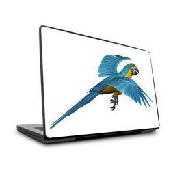 Naklejka na laptopa - Niebieska papuga