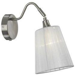 Kinkiet LAMPA ścienna MJOLBY 104327 Markslojd klasyczna OPRAWA abażurowa biały