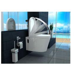 RIKO Miska WC wisząca + deska wolnoopadająca