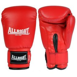 Rękawice bokserskie Allright PVC - czerwone