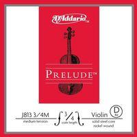 D'addario Prelude J813-34M struna pojedyncza D do skrzypiec 3/4