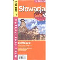 Słowacja 1:280 000 Mapa Samochodowa (opr. twarda)