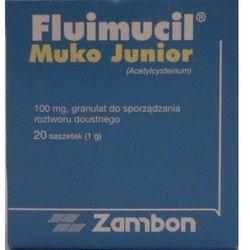 FLUIMUCIL MUKO JUNIOR 100 mg 20 saszetek