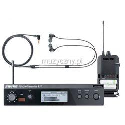 Shure PSM 300 P3TER112GR bezprzewodowy system monitorowy: nadajnik, odbiornik P3R, słuchawki SE112 Płacąc przelewem przesyłka gratis!