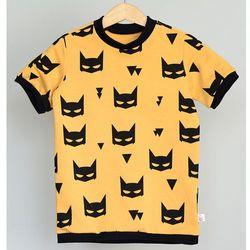 T - shirt koszulka Batman musztardowy
