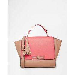 Dune Colour Block Tote Bag - Pink