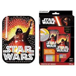 Starpak, Star Wars, mozaika, 14,5x21 cm, zestaw kreatywny Darmowa dostawa do sklepów SMYK