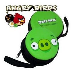 Portmonetka Angry Birds PCV zielona