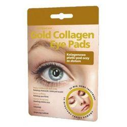 GlySkinCare Gold Collagen Eye Pads - Kolagenowe płatki pod oczy ze złotem, 1 para equalan pharm (-36%)