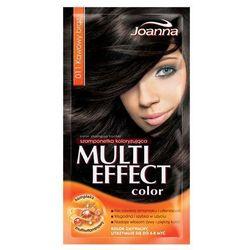 Joanna Multi Color, szampon koloryzujący w saszetce, 11 kawowy brąz