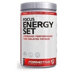 FORMOTIVA FOCUS ENERGY SET 480g PRE-WORKOUT tropic