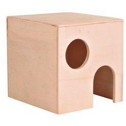Drewniany domek dla chomika