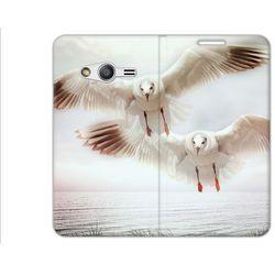 Flex Book Fantastic - Samsung Galaxy Trend 2 Lite - pokrowiec na telefon - ptaki