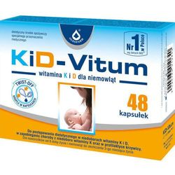 KiD-VITUM Witamina K i D dla niemowląt x 48 kapsułek