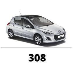 Peugeot 308 - Światła do jazdy dziennej LED DRL P21/5W Bay15d Epistar - Zestaw 2 żarówki