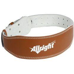 Pas kulturystyczny skórzany Allright (skóra naturalna)