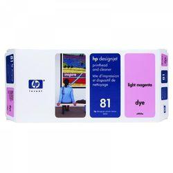 HP oryginalny głowica drukująca C4955A, No.81, light magenta, HP DesignJet 5000, PS, UV, 5500, PS, UV