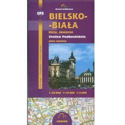 Bielsko-Biała Kozy Jaworze mapa 1:20 000 Sygnatura (opr. broszurowa)