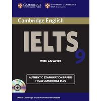 IELTS 9 with answers with 2 audio CDs (opr. miękka)