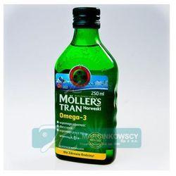 Tran norweski mollers o aromacie naturalnym 250 ml