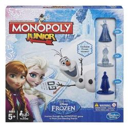 Gra HASBRO Monopoly Junior Kraina Lodu