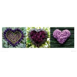 Madalenes Hearts triptych - reprodukcja